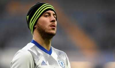 Conte Harap Chelsea tak Lepas Hazard ke Barcelona