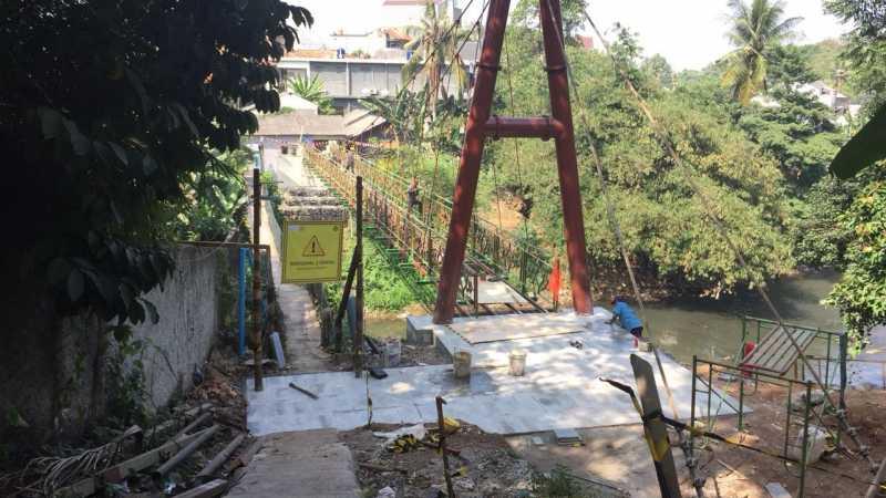 Melihat Pengganti Jembatan Indiana Jones di Jaksel yang Akan Rampung