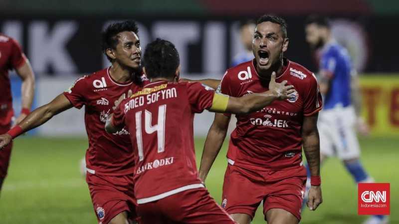 Tiga Cara Persija Jakarta Juara Liga 1 2018