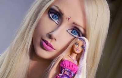 Begini Fashion Seksi Barbie Valeria Lukyanova Selama di Bali