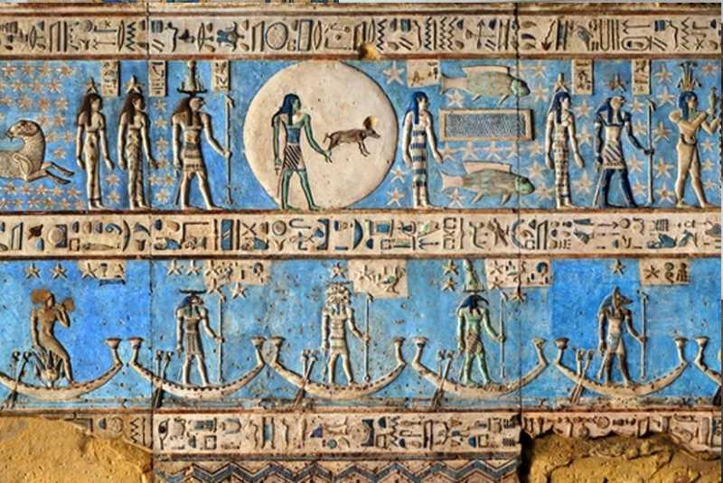 Egyptian Blue, Pigmen Sintetis Pertama Dunia