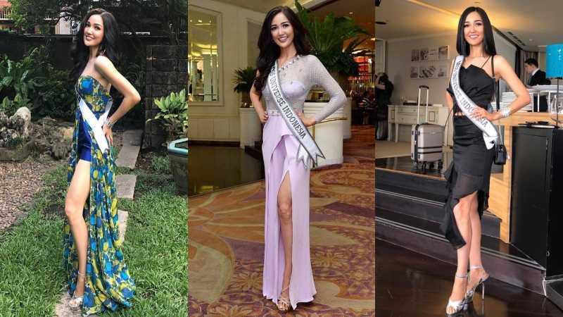Gaya Busana Puteri Indonesia Sonia Fergina di Ajang Miss Universe 2018