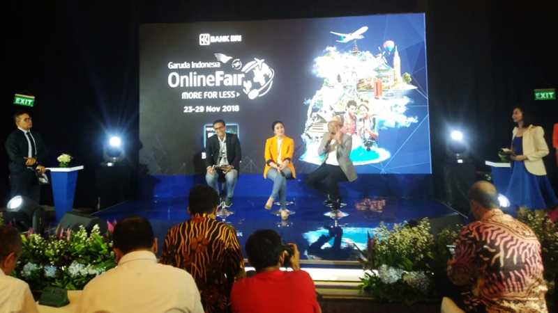 Gelar Promo Tiket Online, Garuda Targetkan Transaksi Rp 340 Miliar
