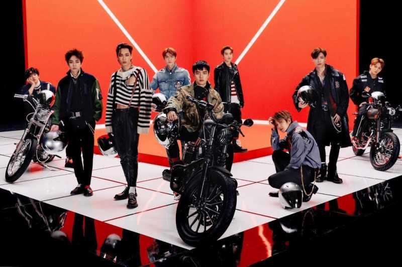 Personel EXO Tak Punya SIM, Video Musik Pakai Tema Balap Motor