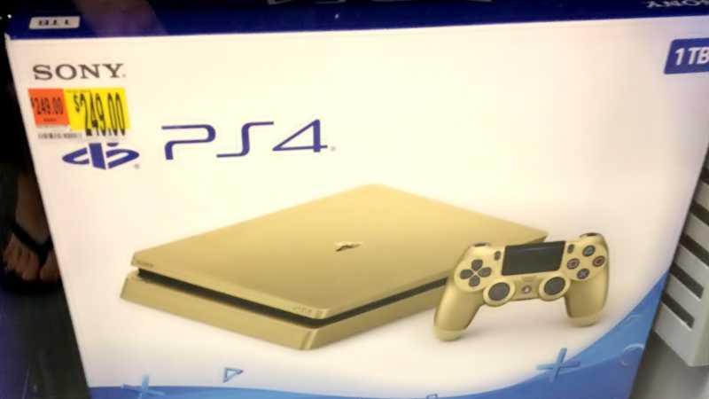 Sony Punya PlayStation 4 Slim Edisi Emas
