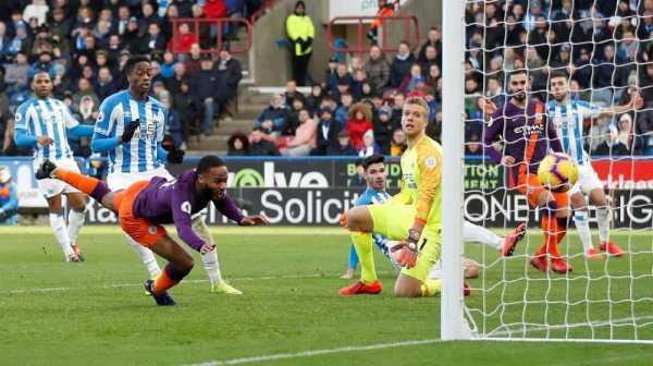 Manchester City Menang Atas Huddersfield 3-0 di Liga Inggris