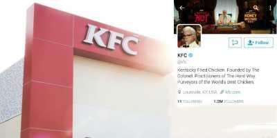Fakta Mengejutkan Akun Twitter KFC