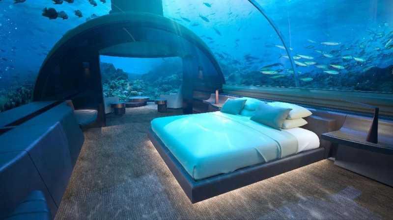 Check-In di Hotel Bawah Laut Seharga Rp600 Jutaan per Malam