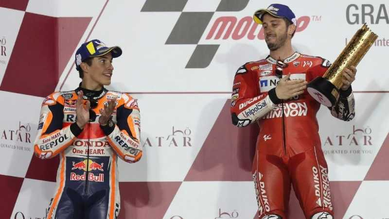 Dua Pekan Berlalu, Dovizioso Dinyatakan Menang MotoGP Qatar
