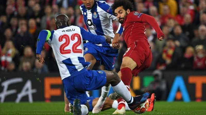 Lawan Porto, Salah Lolos dari Kartu Merah di Liga Champions