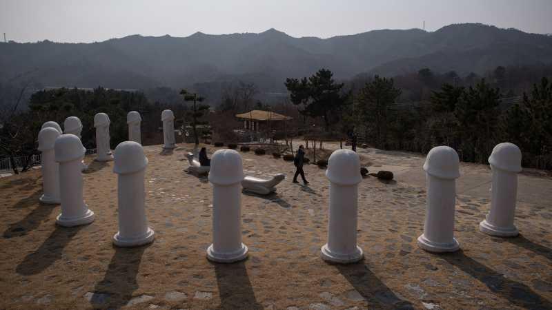 Samcheok Haesindang Park, Taman Alat Kelamin Pria di Korea Selatan