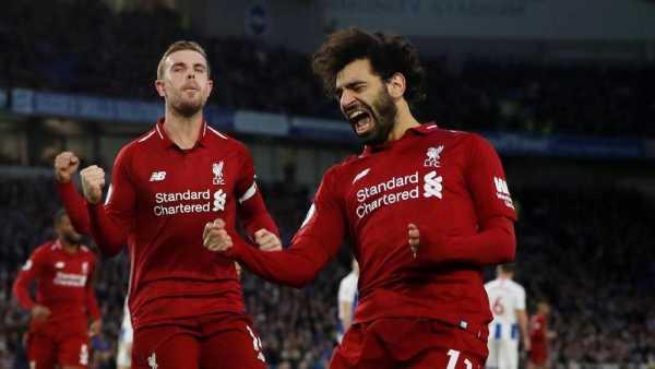 Salah Top Skor ke-8 dalam Sejarah Liverpool di Liga Inggris