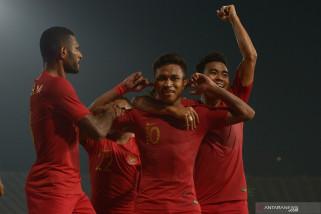 Indonesia juara AFF U-22, Darius jingkrak kegirangan bersama anak