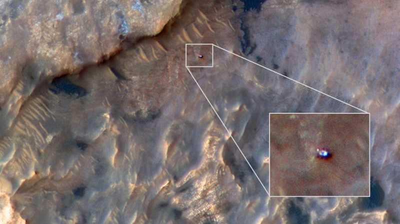 NASA Berhasil Rekam Kegiatan Robot Penjelajah Mars