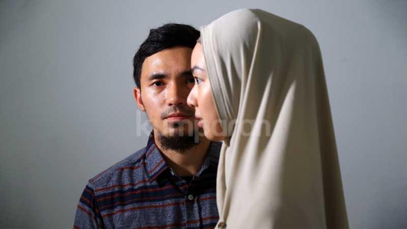 Romantisnya Lindswell Kwok dan Hulaefi pada Foto sebelum Resepsi