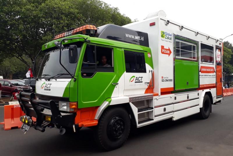 ACT Kirim Food Truck dan Ambulans ke Lombok