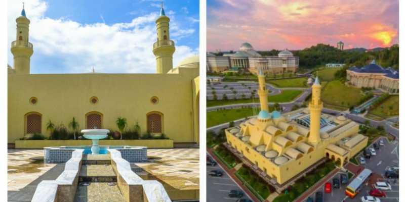 Fotogenik & Punya Atap Canggih, Ayo di Mana Lokasi Masjid Ini?