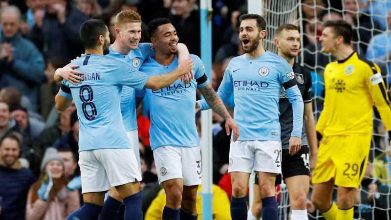 Libas Burnley, City Melaju ke Babak Kelima Piala FA