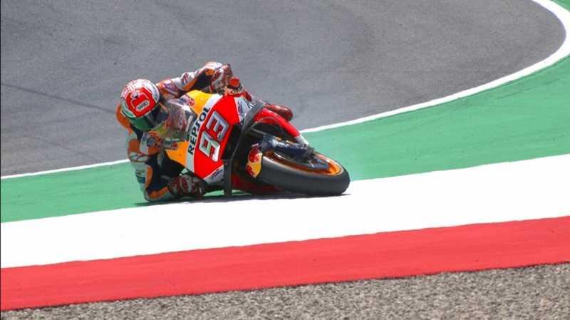 Marquez: Merayakan Kecelakaan para Pebalap Itu Menyedihkan