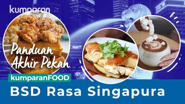 Seharian Kulineran di BSD Bak Lagi di Singapura
