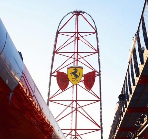 Ferrari Land, Taman Bermain Penuh Adrenalin