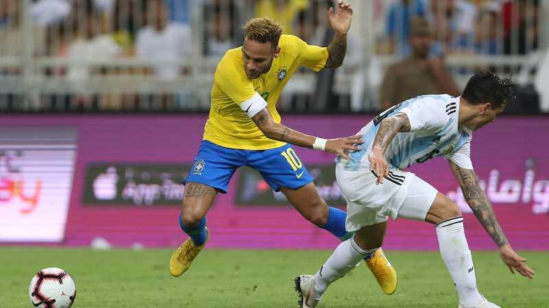 Berkat Gol di Injury Time, Brasil Tekuk Argentina