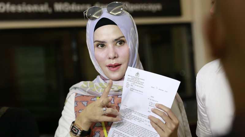 Angel Lelga Ingin Vicky Prasetyo Masuk Penjara: Saya Kejar Kemanapun