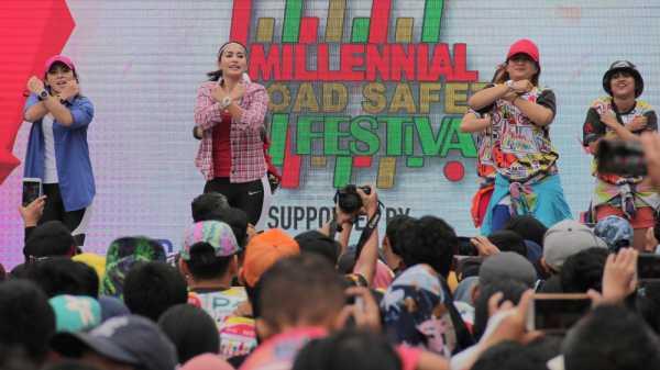 Melihat Keseruan Milenials Road Safety Festival di Bundaran HI