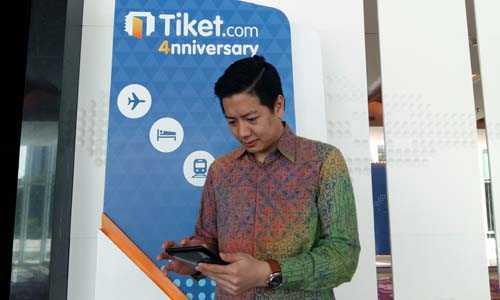 Tiket.com Mulai Nikmati Transaksi dari Aplikasi