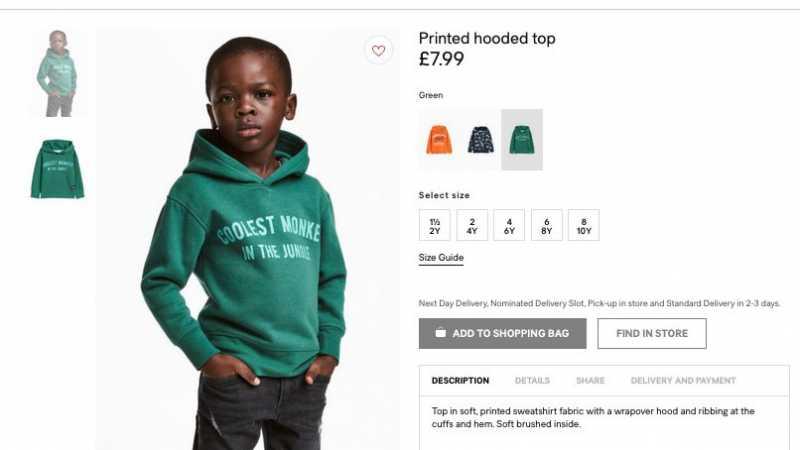 Kontroversi Iklan Terbaru H&M yang Dituding Rasis