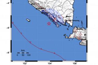 Gempa Magnitudo 4,7 Guncang Bengkulu