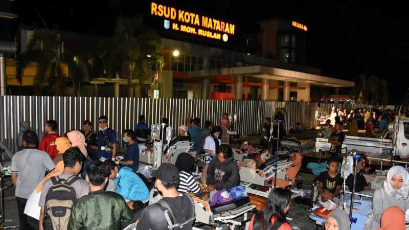 Kepanikan di RSUD Mataram Saat Gempa: Pasien Histeris, Alat Terbanting