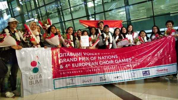 Gitabumi Voices Jadi Juara Dunia di Swedia