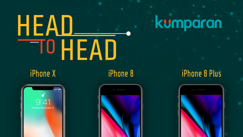 Perbedaan iPhone X, iPhone 8 dan iPhone 8 Plus