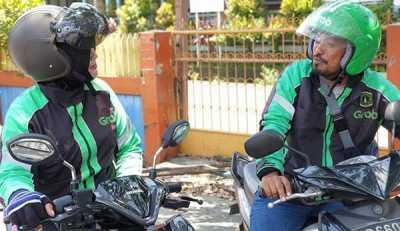 Kisah Suami Istri Mencari Rezeki via Grab