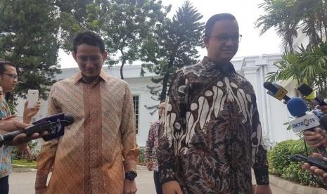 Ini yang Diceritakan Jokowi Saat Bertemu Anies-Sandi