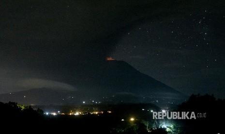 Gunung Agung Kembali Awas, Letusan Besar Segera Terjadi