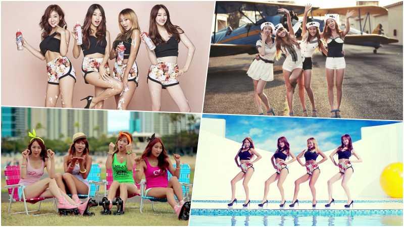 7 Lagu Girlband Sistar untuk Ceriakan Liburanmu