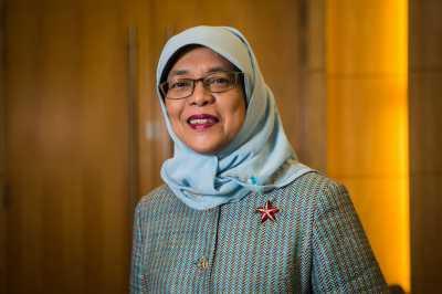 Halimah Yacob, Anak Penjual Nasi Padang Jadi Presiden Wanita Pertama Singapura