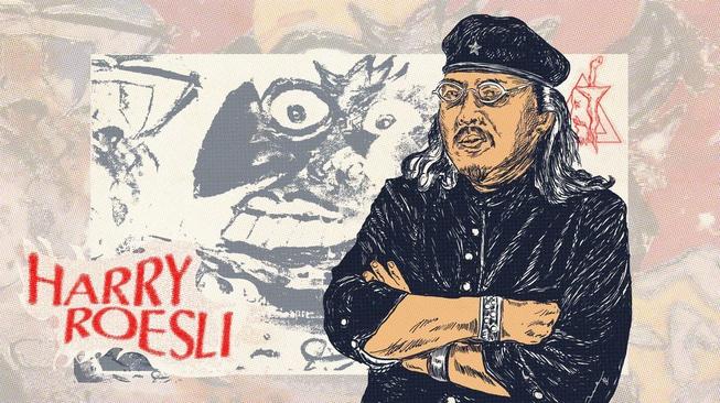 Harry Roesli: Hidup Bandel Melawan Rezim Orde Baru