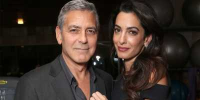 Amal Clooney Melahirkan Bayi Kembar