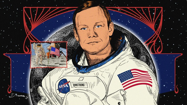 Neil Armstrong: Pahlawan AS yang Dikepung Teori Konspirasi