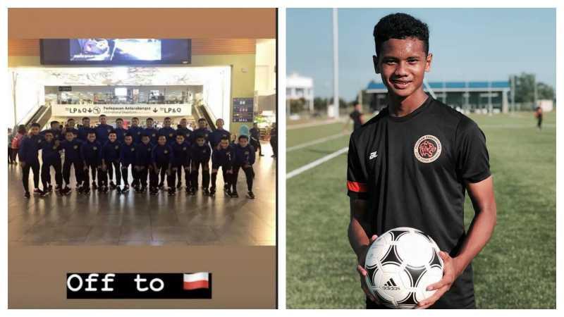 Pemain Timnas Malaysia U-16 yang Membalik Bendera Indonesia Minta Maaf