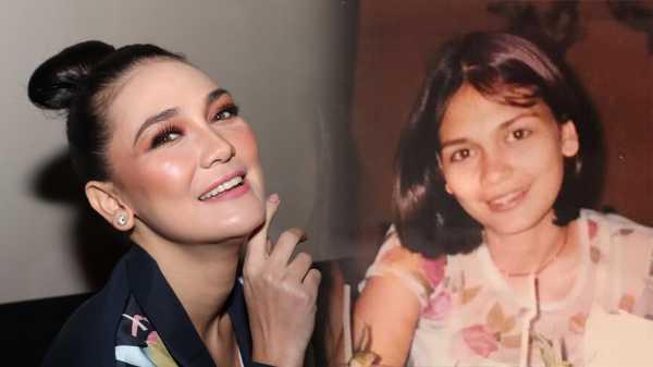Foto Jadul Luna Maya: Masa Kecil Mirip Cowok hingga Pakai Kawat Gigi