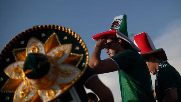 Gempa Buatan di Mexico City Kala Meksiko Pukul Jerman