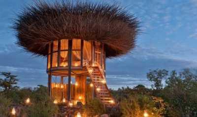 Hotel Ini Tawarkan Sensasi Tidur di Sarang Burung