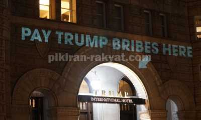 Hotel Donald Trump Dirisak Video Mapping