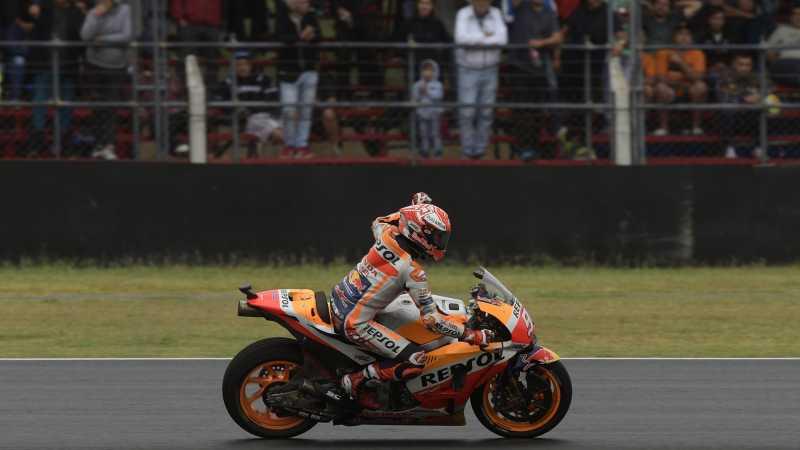 Marc Marquez Tanggapi Santai Penalti Tiga Grid di GP Amerika