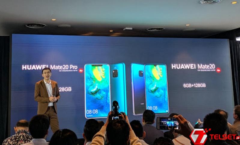Resmi! Duo Huawei Mate 20 Dirilis di Indonesia