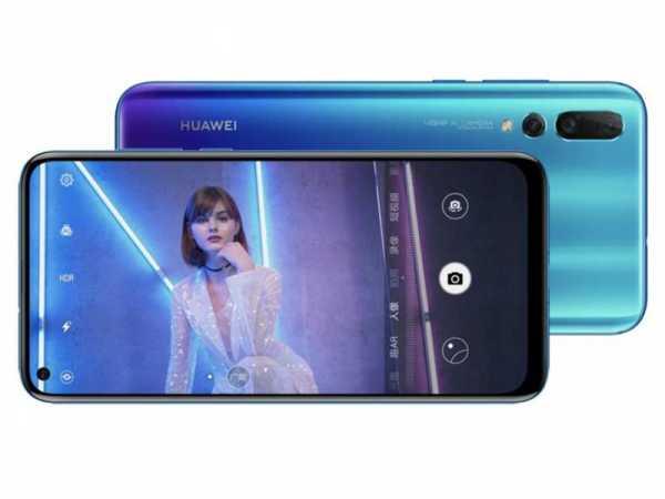 "Huawei Nova 4, Desain Layar ""Punch Hole"" Andalkan Kamera 48MP"